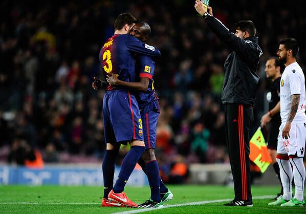 La vuelta de Abidal, la ausencia de Messi, Cesc y Alexis goleadores