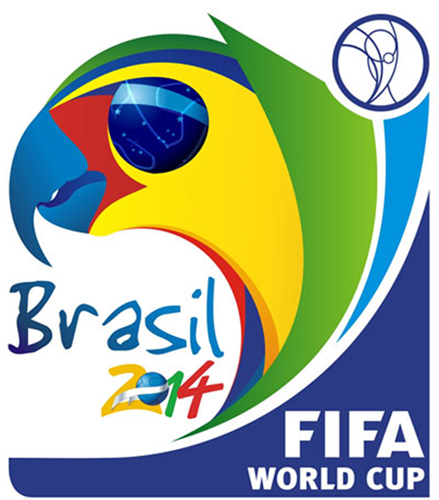 Logo oficial Brasil 2014
