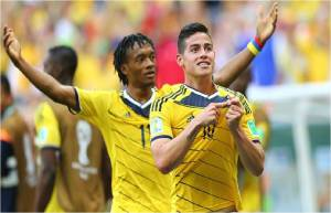 Colombia vs Costa de Marfil